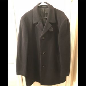 Other - Calvin Klein Top Coat. Black. Size 42R